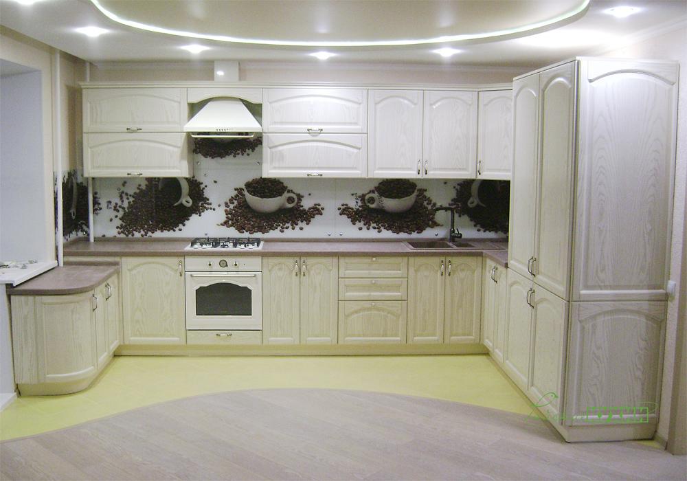 Кухня Форма_1 - шпон